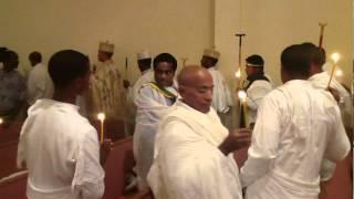 Celebrating EASTER At Keranio Medhanialem Ethiopian Orthodox Tewahido Church