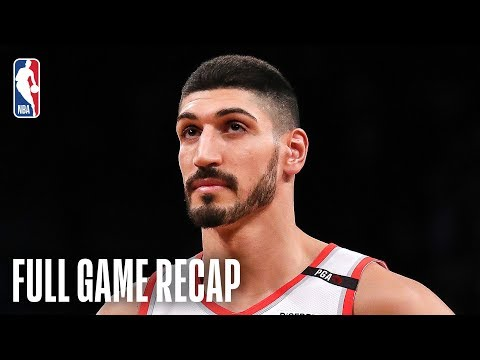 Video: TRAIL BLAZERS vs NETS | Kanter Shines In Portland Debut | February 21, 2019