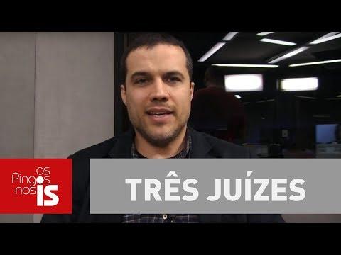Felipe Moura Brasil: Três juízes merecem vaga de Mendes, Lewandowski e Toffoli (видео)