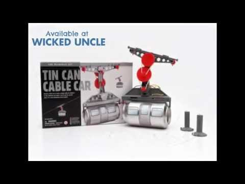 Youtube Video for Tin Can Cable Car - Fun Mechanics!
