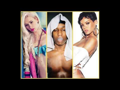 Rihanna x ASAP Rocky x Iggy Azalea - Cockiness Remix (Mashup)