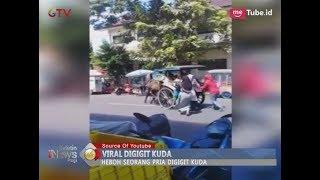 Video Bikin Heboh!! Viral Video Detik-detik Kuda Gigit Pemiliknya di Jalan - BIP 23/02 MP3, 3GP, MP4, WEBM, AVI, FLV Februari 2018