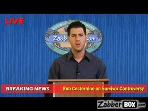 Rob C comments on the Survivor Racism Controversy