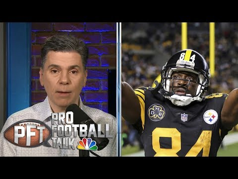 Video: Steelers agree to seek trade for Antonio Brown | Pro Football Talk | NBC Sports
