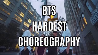 Video BTS (Bangtan Boys) HARDEST CHOREOGRAPHY ( 2017 ) MP3, 3GP, MP4, WEBM, AVI, FLV Juli 2018