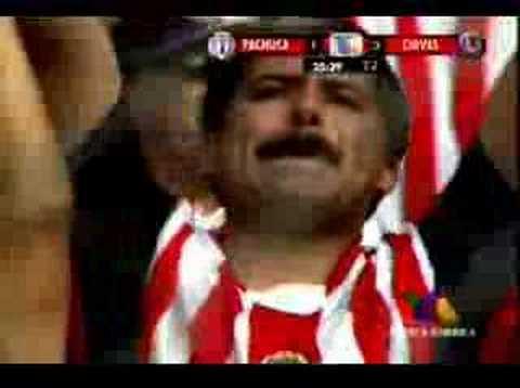 Gol de El Bofo al Pachuca