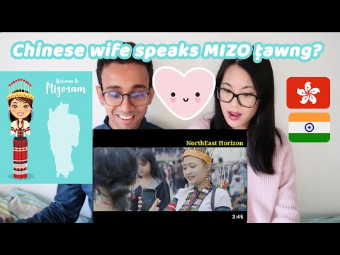 Chinese wife learns to speak Mizo ṭawng?! 😱 | Mizoram - Land of Blue Mountains | Chindian Couple 🇬🇧