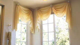 Bathroom Window Curtains: Bathroom Decorating Ideas for the Master Bath   Galaxy-Design Video #122