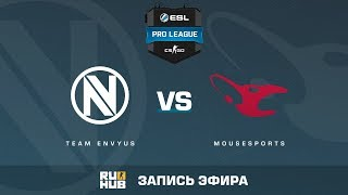 Team EnVyUs vs mousesports - ESL Pro League S6 EU - de_cobblestone [yXo, Enkanis]