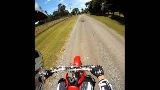 6. Honda CRF 100F Top Speed Go Pro