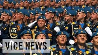プーチン大統領の雄叫び ロシア対独戦勝70周年記念式典