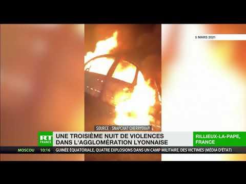 Retour au calme dans l'agglomération lyonnaise après trois nuits de violences