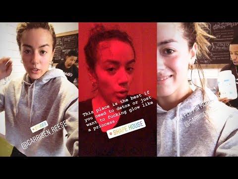 Chloe Bennet   Instagram Story   10 July 2018