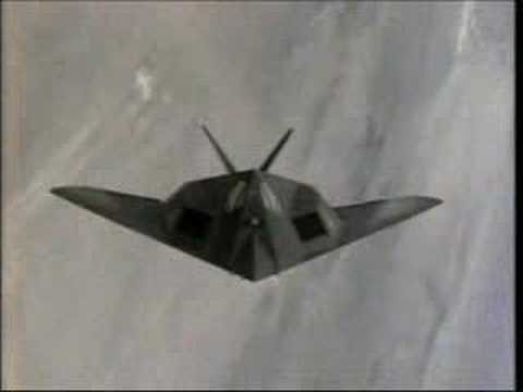 The F-117 Nighthawk, another of...