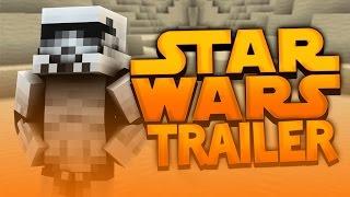 STAR WARS EPISODE VII TRAILER ( Minecraft Funny Videos&Moments )