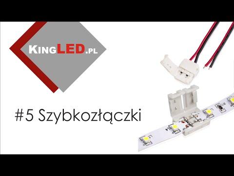 Szybkozłączki zamiast lutowania taśmy LED #5 _ Poradnik od KINGLED pl