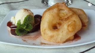 Apfelküchlein | Beignets de pommes im Bierteig | Pâte àfrire à la bière