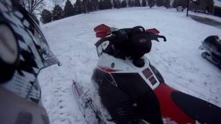 10. Riding a 2007 Yamaha FX MTX Nytro