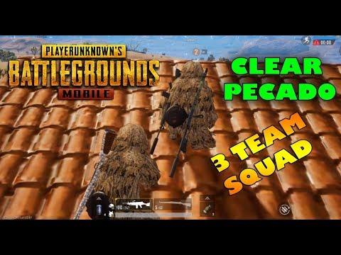 [PUBG Mobile] 2 Anh Em Khỉ Đột Clear 3 Team SQUAD PECADO | Mạnh Mo - Thời lượng: 17:02.