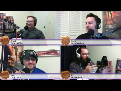 BMFcast305 - Time Barbarians Live Stream