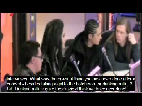 Tokio Hotel Mindless but hilarious