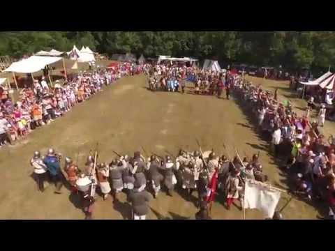 Krásnohorské hradné hry 2015 - letecké zábery