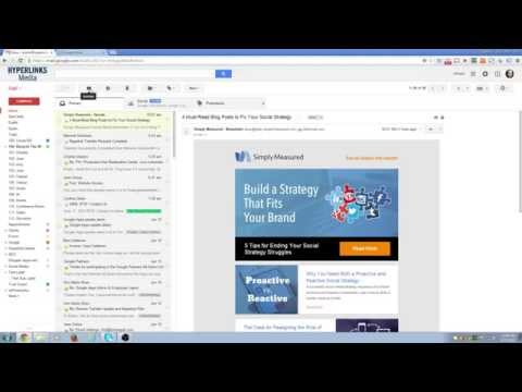 Marking email options in G suite
