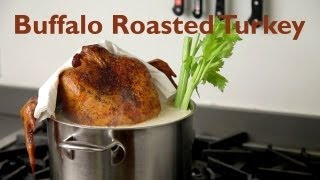 Tailgate Buffalo Roasted Turkey Complete with Blue Cheese Sauce