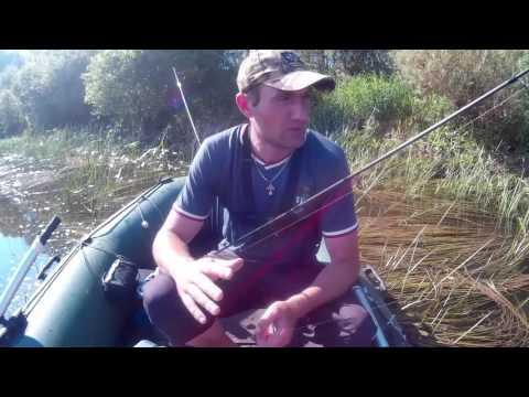 видео ловли судака на лодке 2016
