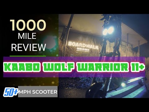 Kaabo Wolf Warrior 11+, 1000 Mile Review : The Good, Bad & Ugly.