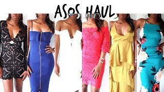 Day four of #haulweek and I'm hitting you with the baddest ASOS occasional dress haul there ever was. This haul features just the kind of dresses you want to ...