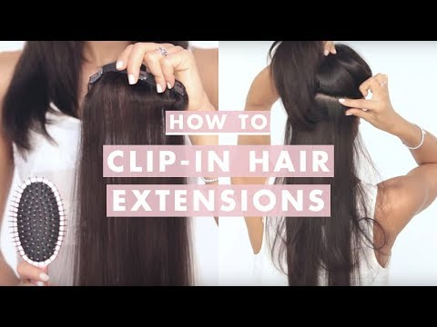 luxy hair - This is an UPDATED video on How to Clip In Luxy Hair Extensions. Transform your hair into thick, full bodied, beautiful locks in minutes! To get your own set...