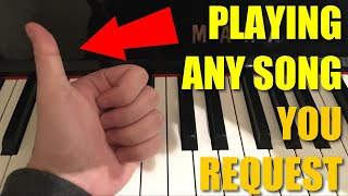 🔴  Livestream #25: Playing Superchat Songs on the Piano improvised right on the spot--Check out all our other past live streams where I play any song on the spot requested through superchat here:https://www.youtube.com/playlist?list=PL62pKfyAHw_zhYkfpK7ga3zzzYdLnuvSKThanks so much for chiming into our Live Stream and I hope you have a great day!P.S. Like and subscribe for many more piano covers, tutorials and livestreams like this delivered to you.P.P.S For those who missed the stream and want to know when I usually stream. I stream mainly on Thursday and Saturdays 2pm (GMT+10). For most of you guys in the United states, this would be Wednesday and Friday nights for you. If you don't know what time it is, google (GMT+10) 2pm  and see what time does it translate for you and your timezone!As always, enjoy your time around my channel and see you next time!