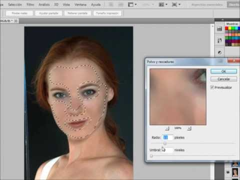 Tutorial photoshop: Retocar la piel