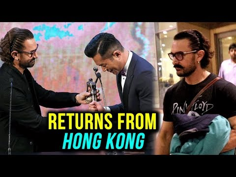 Aamir Khan Returns To Mumbai From Hong Kong | 37th
