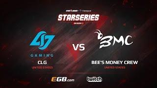 CLG vs Bee's Money Crew, map 3 cache, SL i-League StarSeries Season 3 NA Qualifier