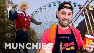 600,000 Corn Dogs at the Texas State Fair - A Frank Experience by Munchies
