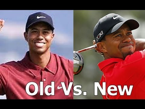 Tiger Woods Golf Swing Changes 2006 vs. 2013