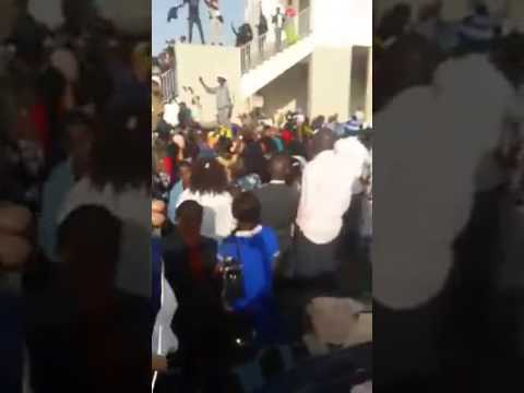 Militants et sympathisants chantent dans la ferveur pour Khalifa Sall