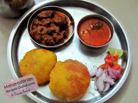Kombdi Rassa / Tambda Rassa ani Sukhe Chicken (Maharashtrian Recipe)