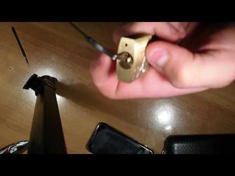 aprire un lucchetto senza chiavi