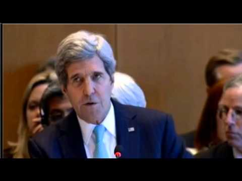 Secretary Kerry Delivers Remarks at the Geneva ll