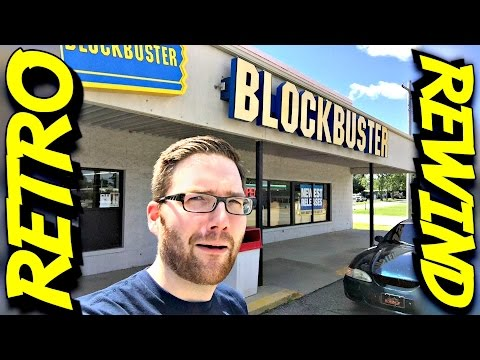 Guy Finds And Goes Into A BLOCKBUSTER in 2016! [Video]