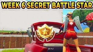 *NEW* Season 5 Week 6 SECRET BATTLE STAR!! Hidden Challenge Location Guide! Road Trip Bonus Star!