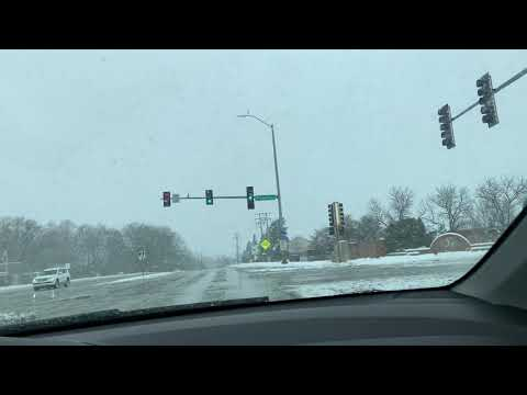 Surprise Snowfall in Chicago | Spring day | April 2019 | Tamil New Year | Chithirai onu