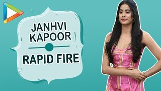 "Video Janhvi Kapoor: ""I want Kamli from SANJU to be my BESTFRIEND"" 