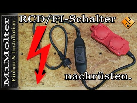 RCD/FI Schalter nachrüsten.