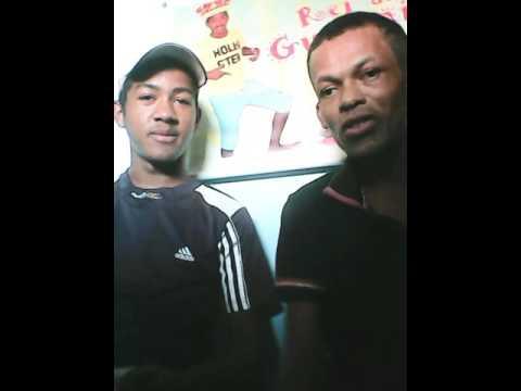 Blogueiro Luiz e Rei do guaxinim direto dos bastidores da Cacimbinhas em foco