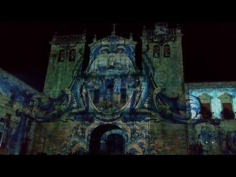 Video Mapping Viseu - Séculos de Luz