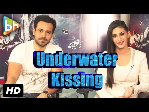 I've Done Underwater Kissing Before & It's Not Goo Emraan Hashmi